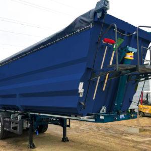 Baxle Feber semi-trailer for scrap metal transport