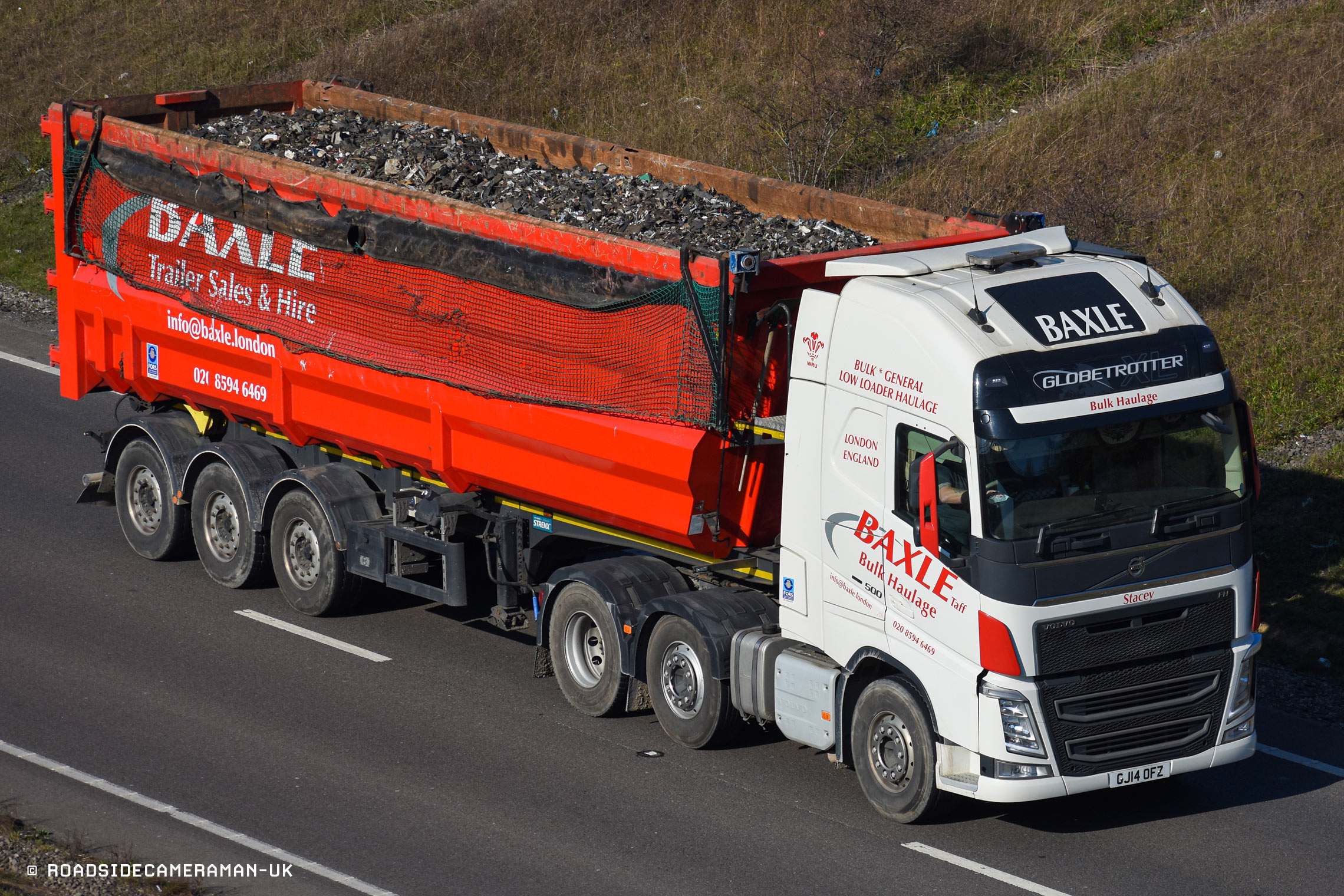 Baxle bulk tipping services in London
