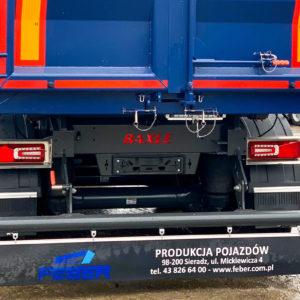 Feber semi-trailer by Baxle London