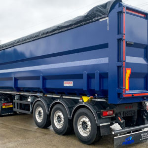 Semi trailer for sale for metal recycling from Baxle London