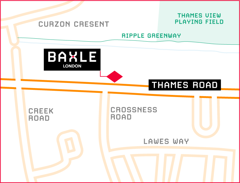 How to find Baxle London based in Barking